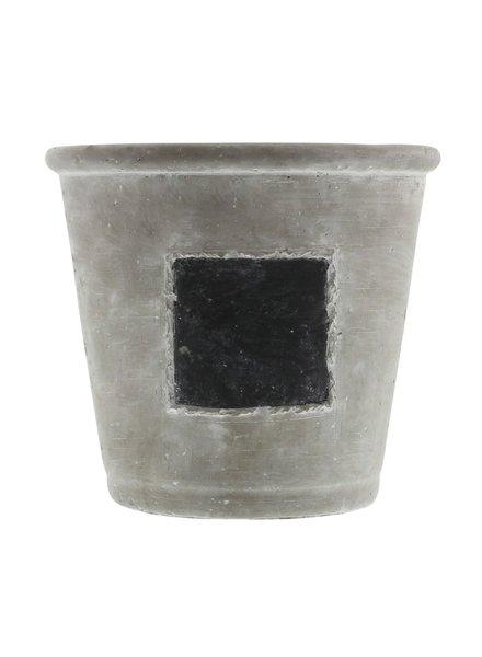 HomArt Chalkboard Cachepots - Lrg