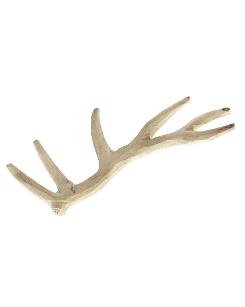 HomArt Carved Wood Antlers Antler Object - Elk