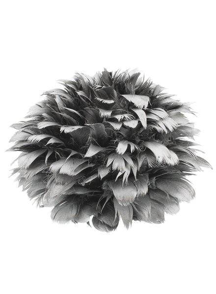 HomArt Silver Feather Pomanders Ball - Large