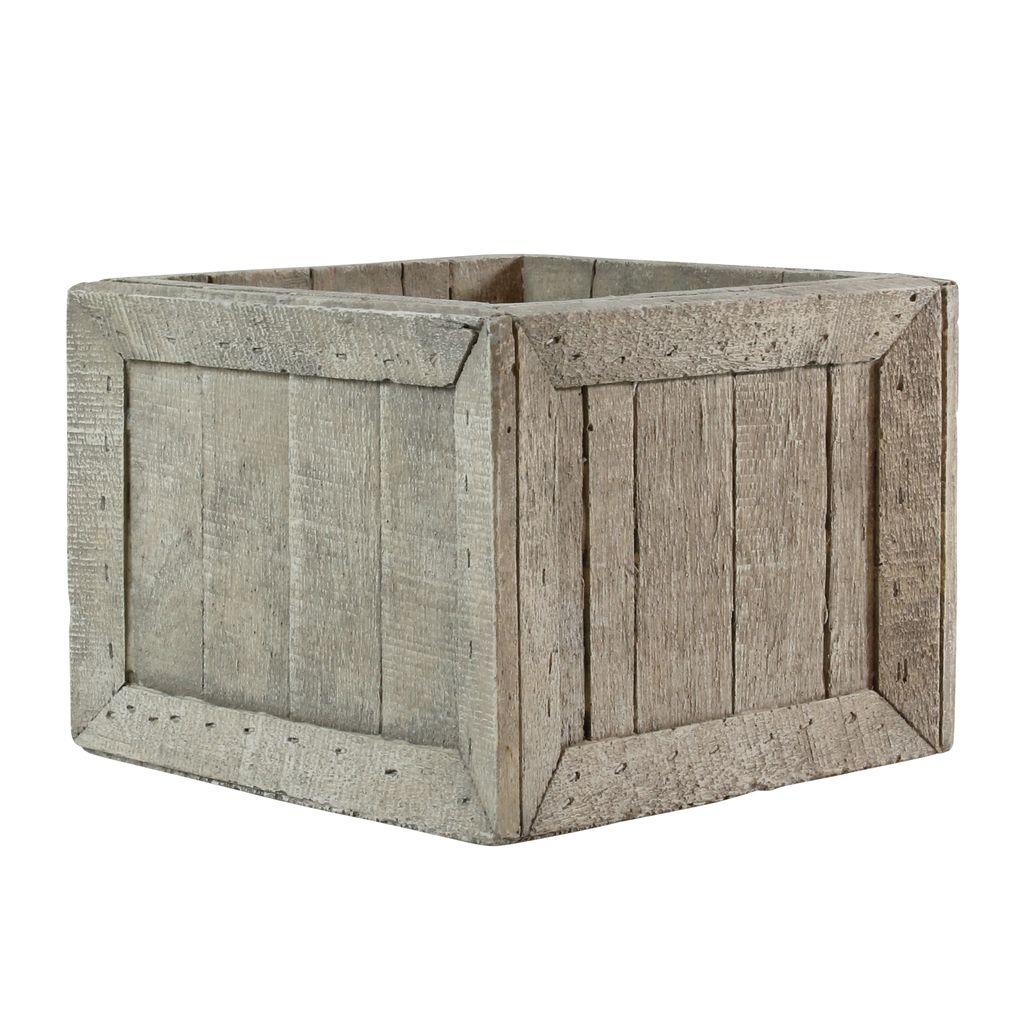 HomArt Cast Cement Wharf Crates - Square - Lrg