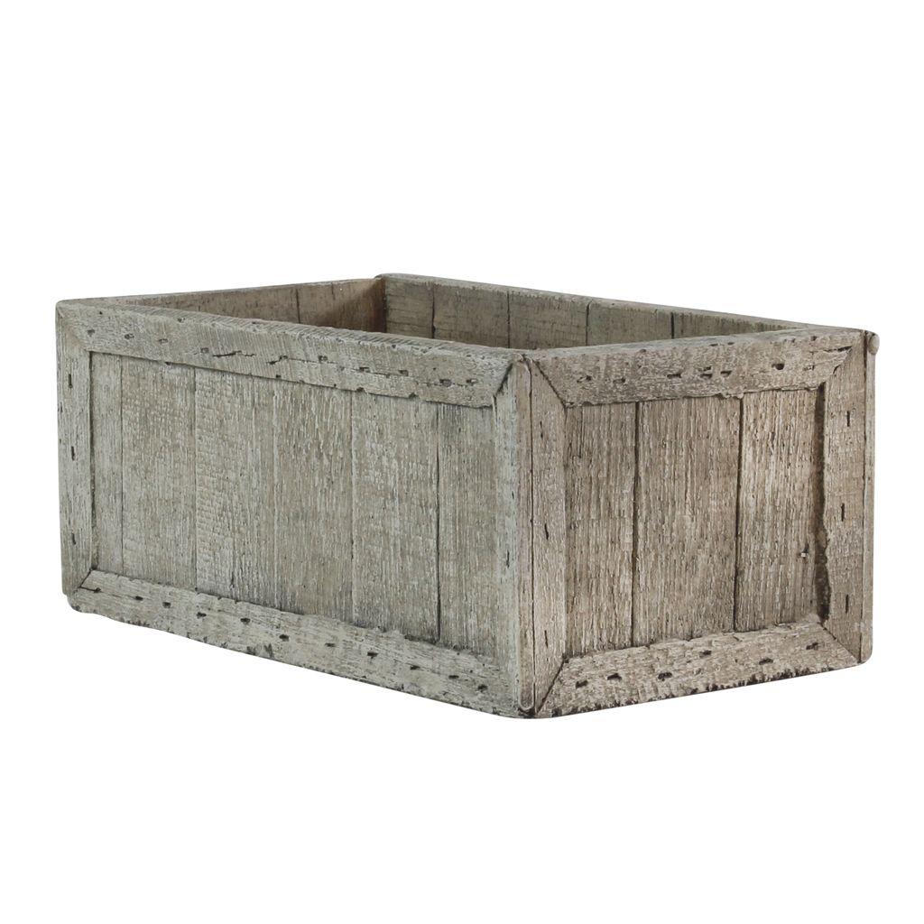 HomArt Cast Cement Wharf Crates - Rec
