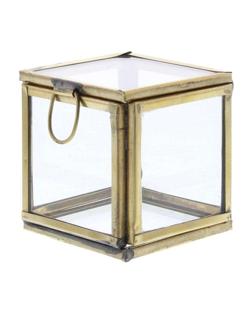 HomArt Pierre Demi Leaded Glass Box - Petite