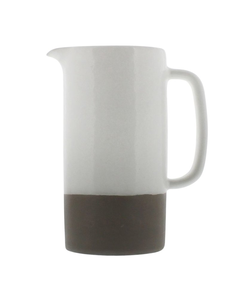 HomArt Liam Ceramic Pitcher - Large - Unglazed Bottom