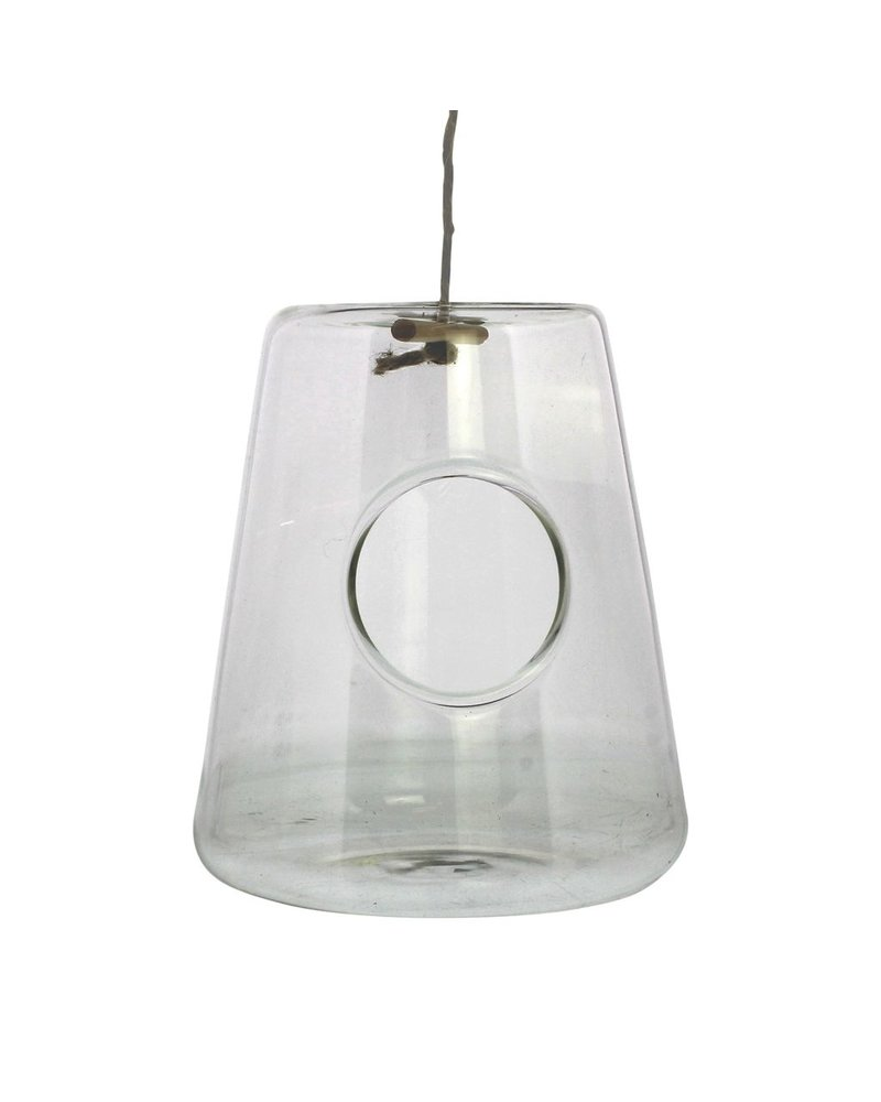 HomArt Hanging Glass Isosceles Terrariums - Wide Bottom