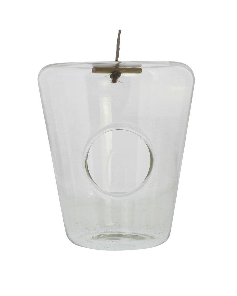 HomArt Hanging Glass Isosceles Terrariums- Wide Top