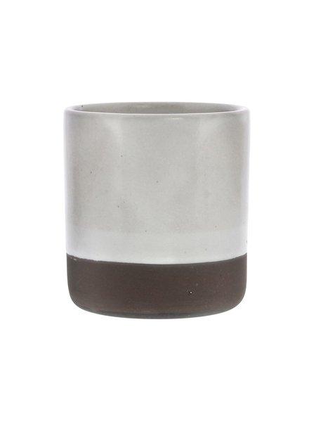 HomArt Liam Ceramic Tumbler - Unglazed Bottom