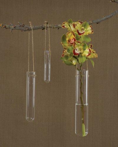 Homart Hanging Glass Tube Vase Lrg Areohome