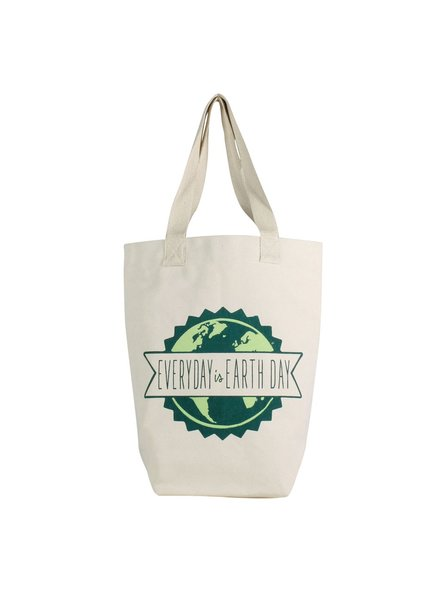HomArt Farmer Market Tote - Every Day is Earth Day