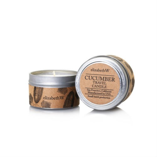 Travel Candle Cucumber 4oz