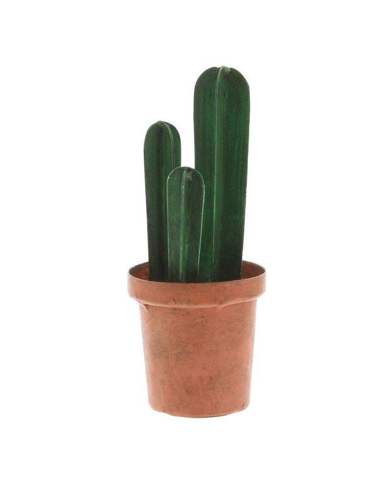 HomArt Metal Barrel Cacti