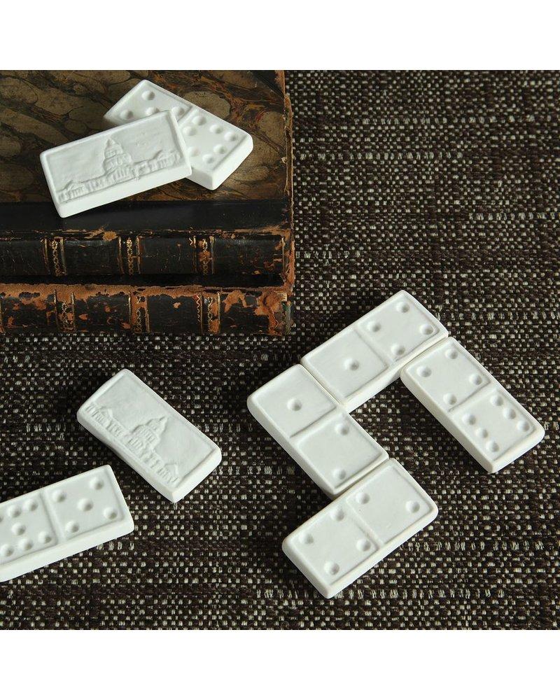 HomArt Bone China Dominos - Assorted Set of 8