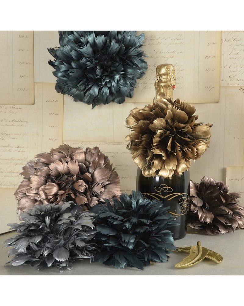 HomArt Copper Feather Pomanders Ball - Small