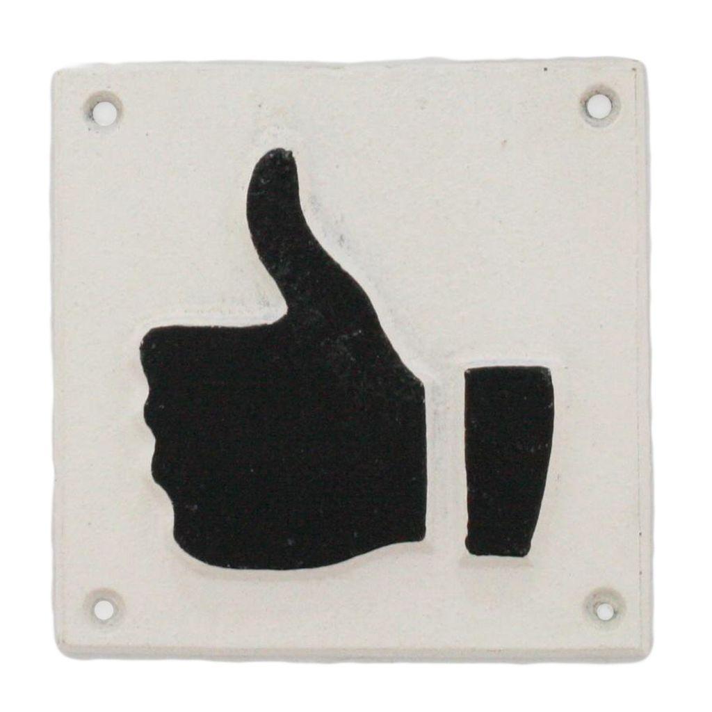 HomArt Cast Iron Sign - Thumb