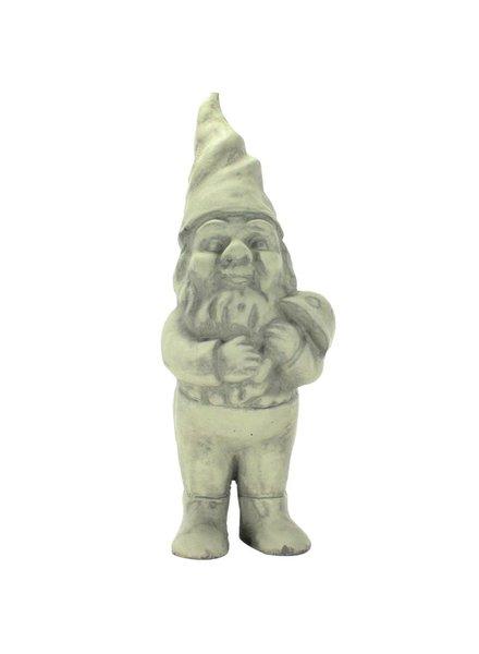 HomArt Clifford the Cement Garden Gnome Grey