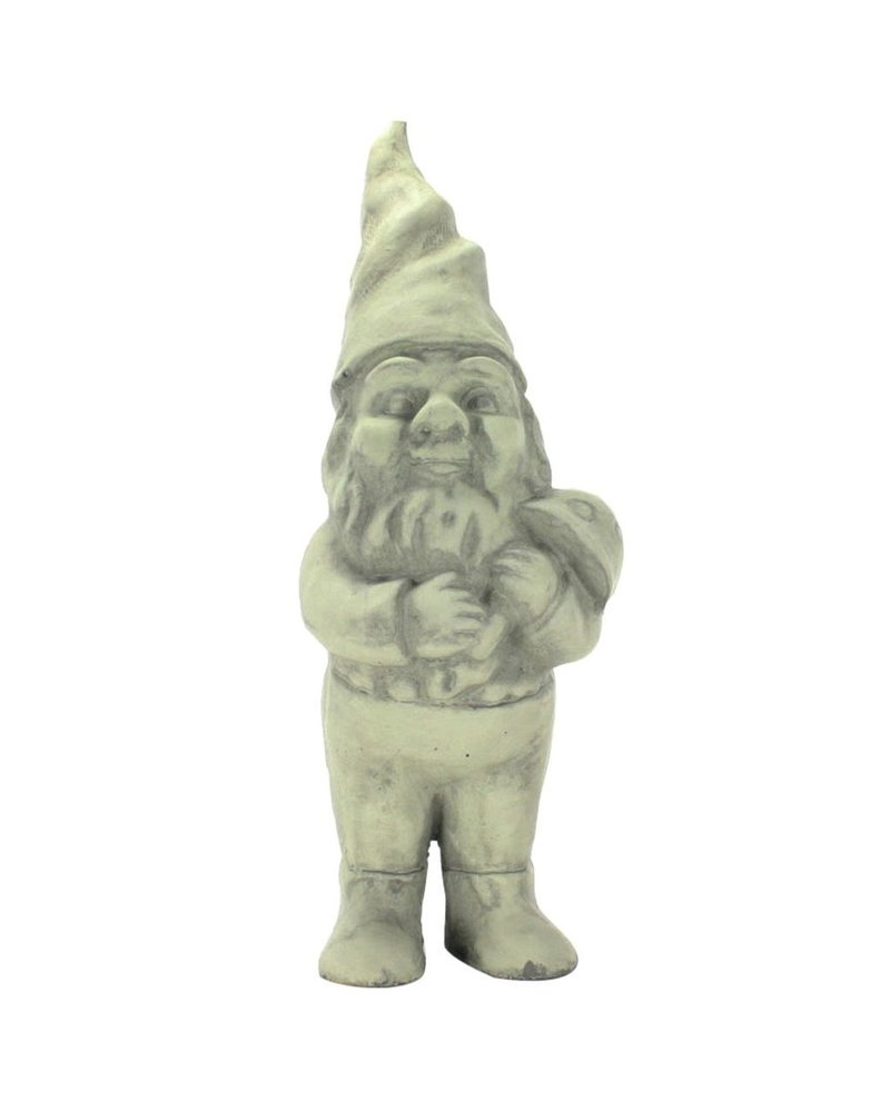 HomArt Clifford the Cement Garden Gnome Grey