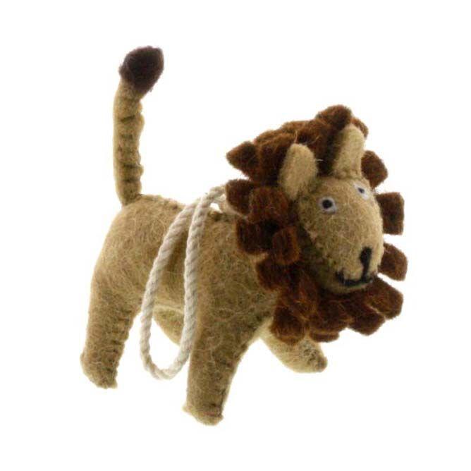 HomArt Felt Lion Ornament