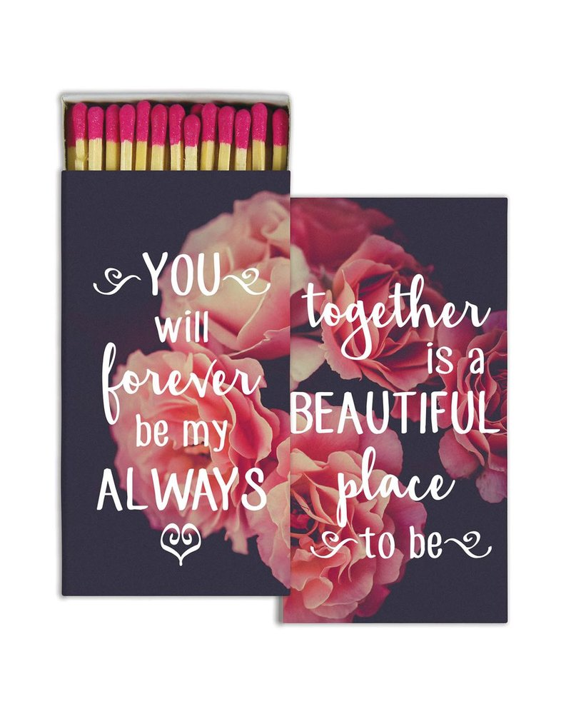 HomArt Together Forever - Matches Set of 3 Boxes