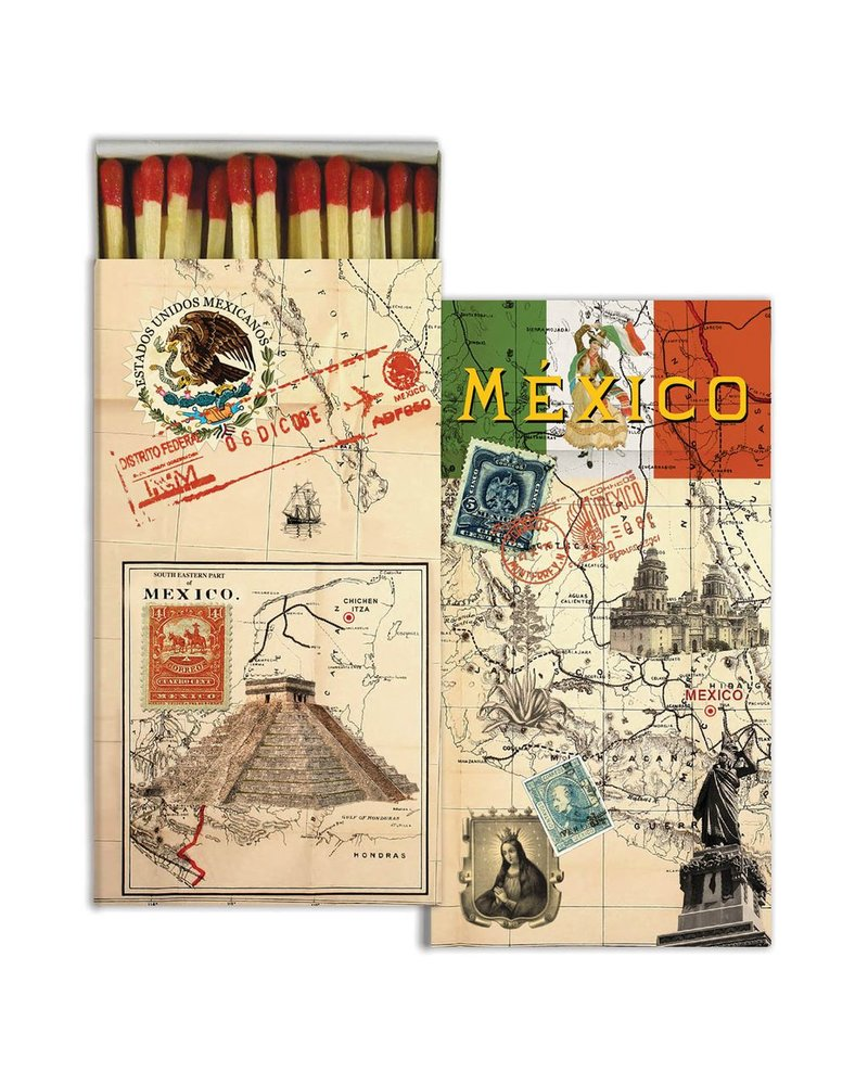 HomArt Mexico - Matches Set of 3 Boxes