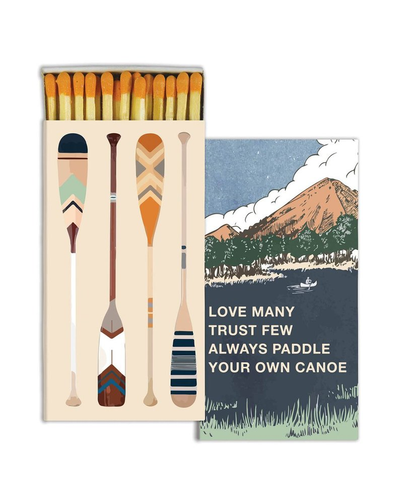 HomArt Paddle Your Canoe - Matches Set of 3 Boxes