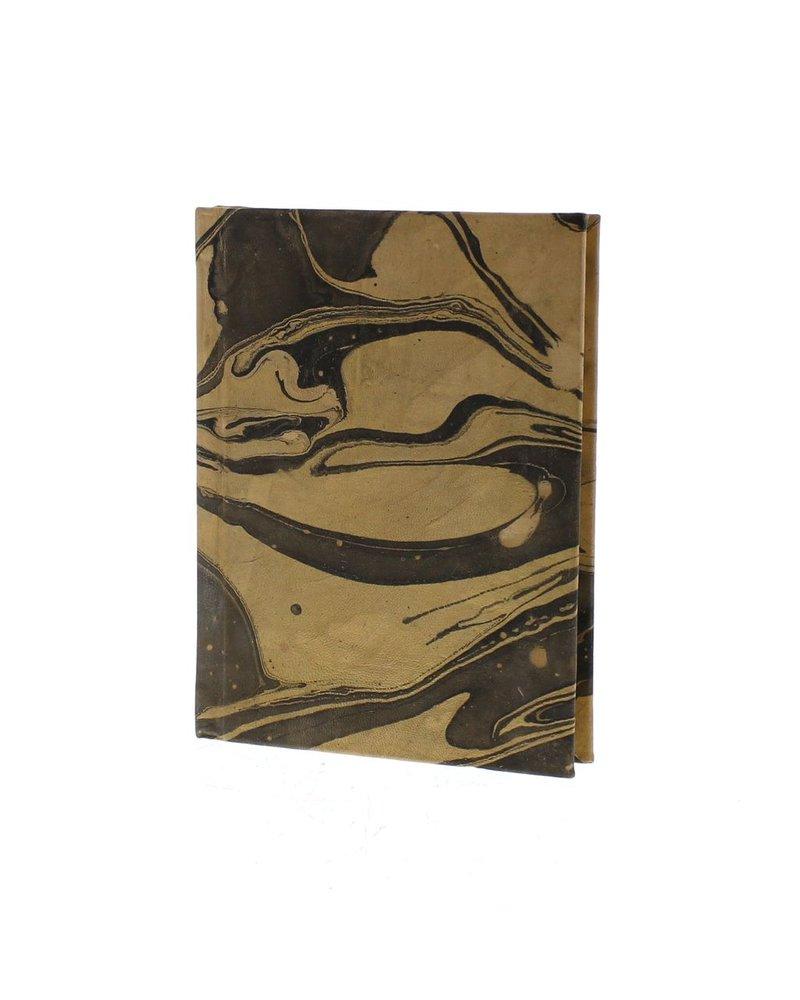 HomArt Marbleized Leather Journal  Grey