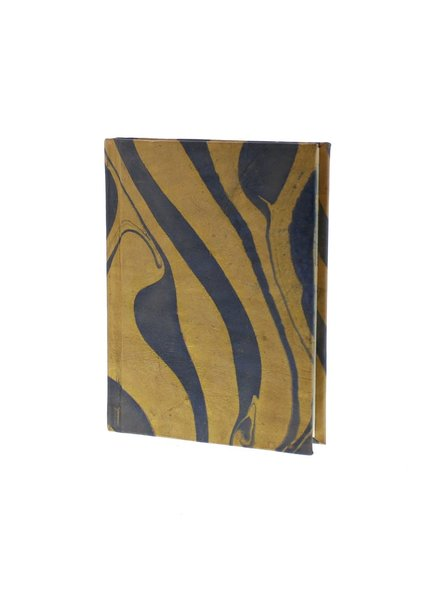 HomArt Marbleized Leather Journal  Blue