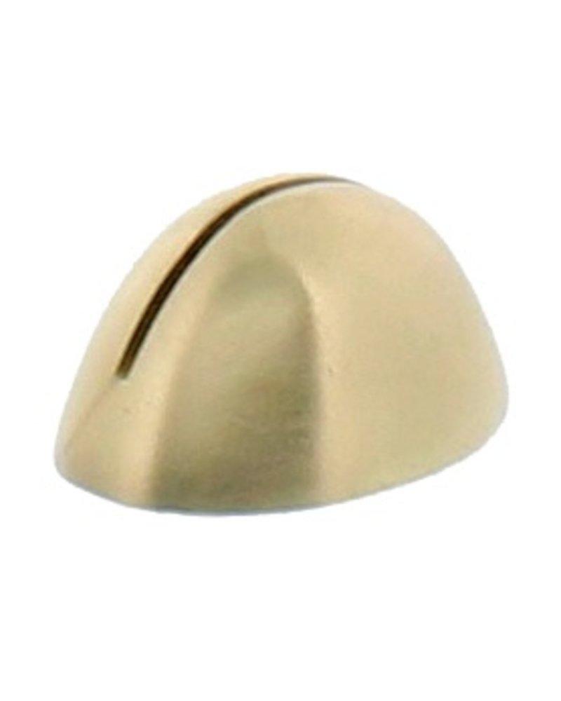 HomArt Brass Cast Iron Oval Place Card Holder