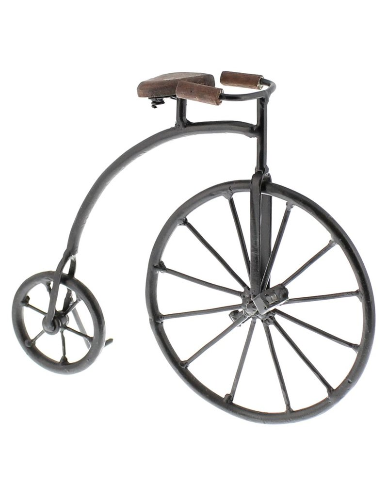 HomArt Iron and Wood High Wheeler Bicycle