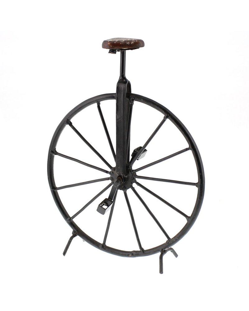 HomArt Iron and Wood Unicycle