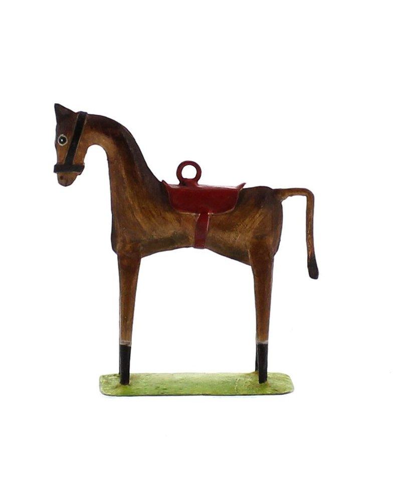 HomArt Race Horse Ornament - Brown