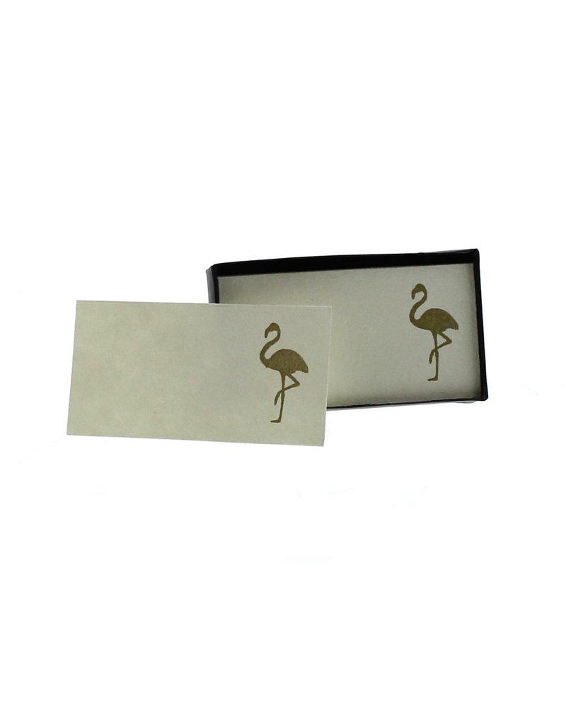 HomArt Flamingo Printed Paper Cards - Box of 32