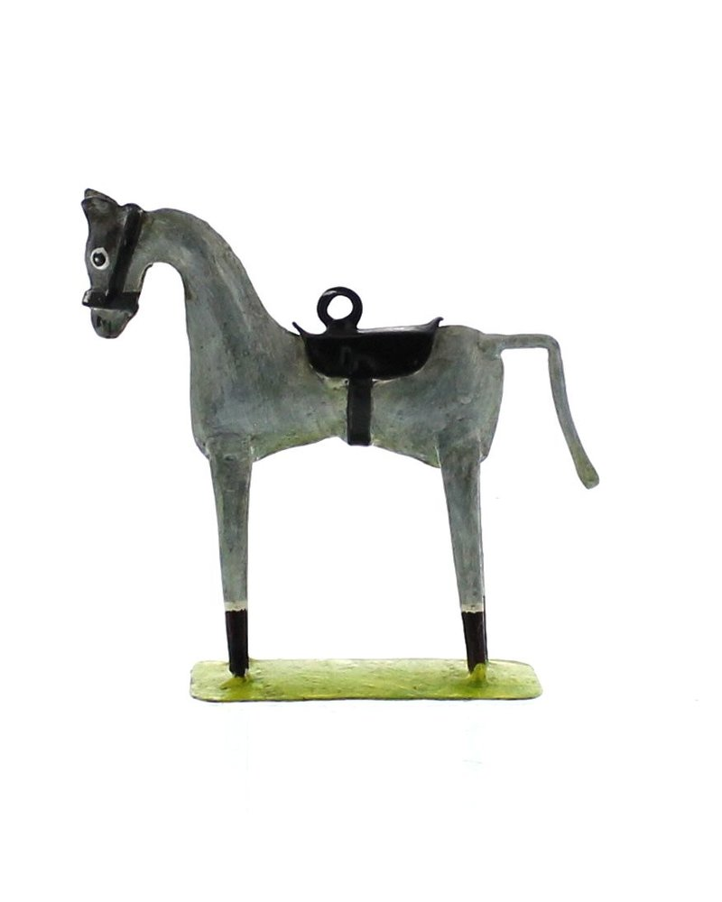 HomArt Race Horse Ornament - Grey