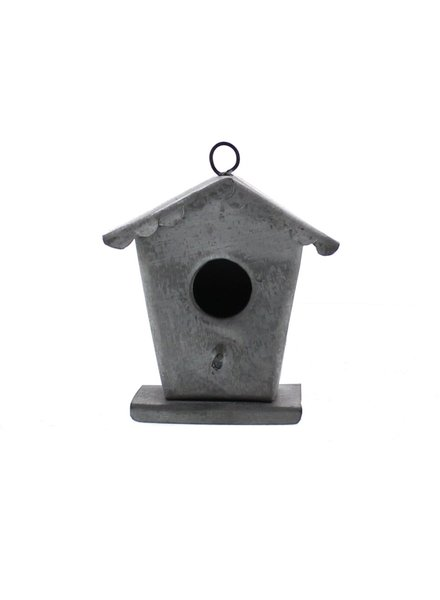 HomArt Zinc Birdhouse Ornament