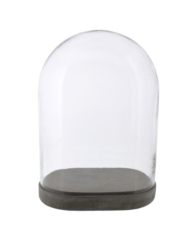 HomArt Risa Cement Base - Oval, Lrg