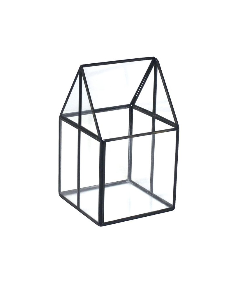 HomArt Pierre House Glass Terrarium - Small