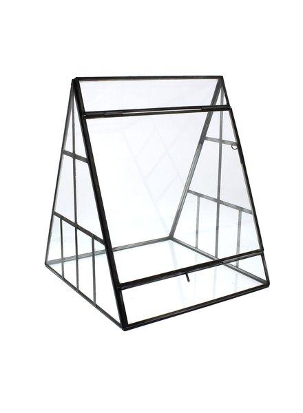 HomArt Pierre A-Frame Glass Terrarium
