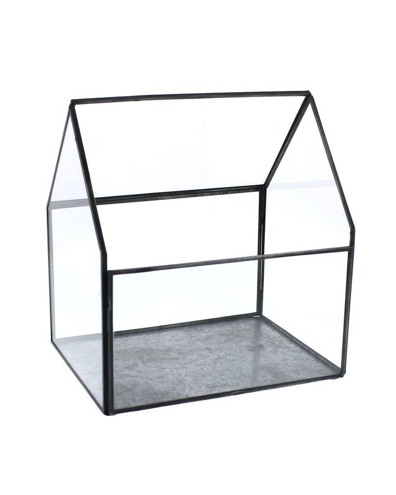 HomArt Pierre Cottage Glass Terrarium - Large
