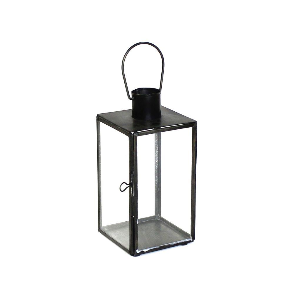HomArt Langdon Leaded Glass Lantern - Sm