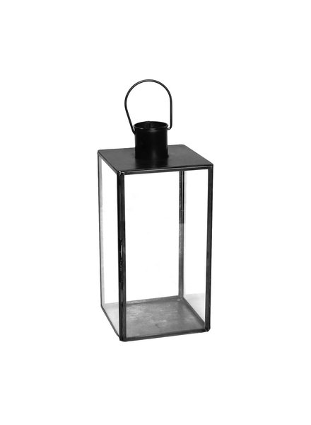 HomArt Langdon Leaded Glass Lantern - Med