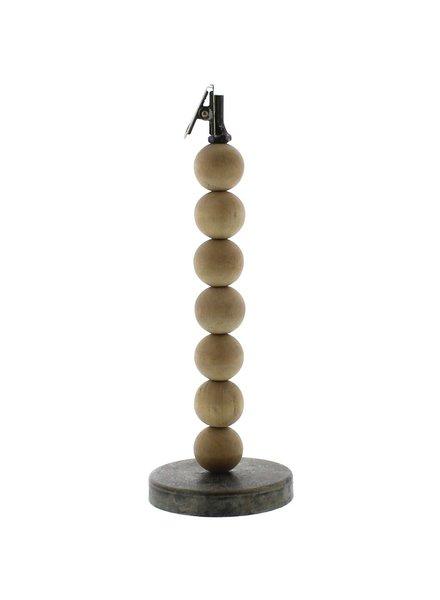 HomArt Wood Sphere Clip Stand - Lrg