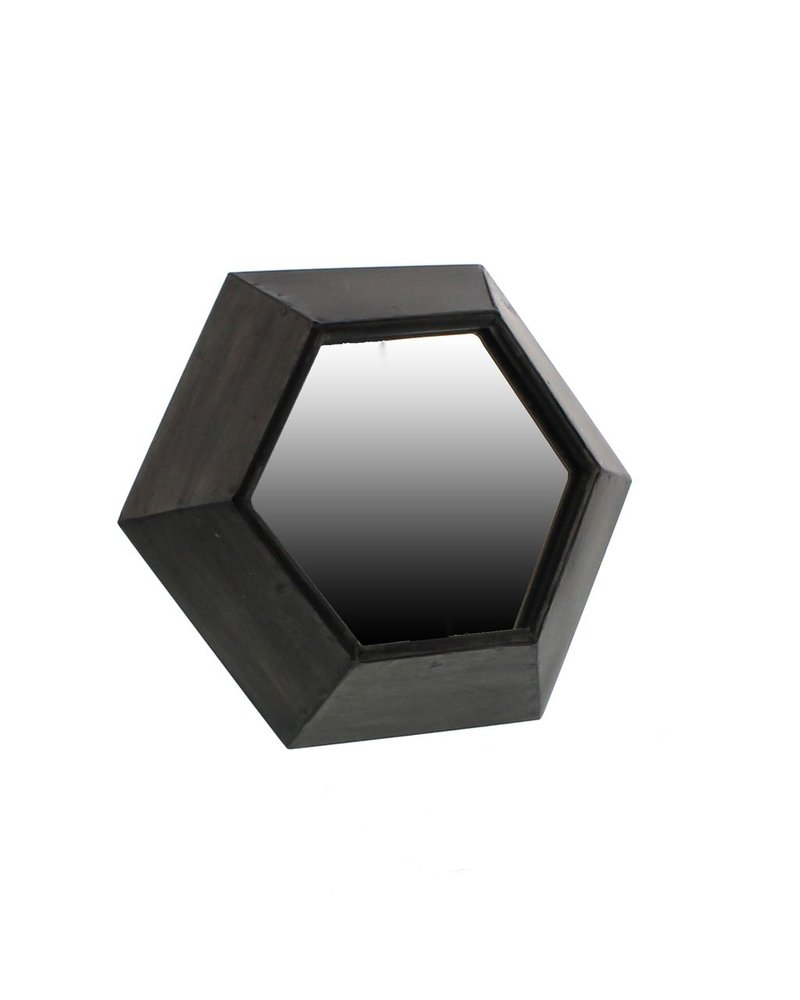 HomArt Hexagon Metal Table Mirror