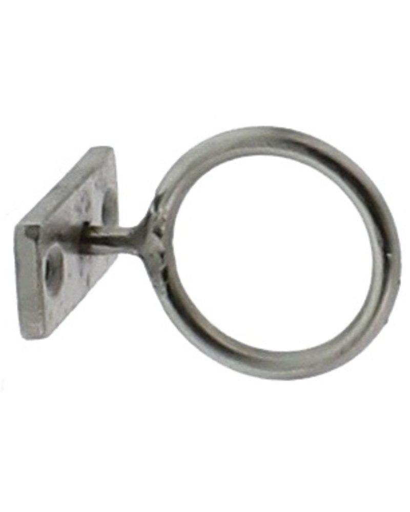 HomArt Nickel Bijou Ring - 2 in  Nickel