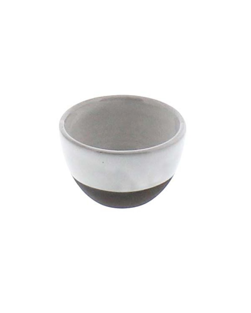 HomArt Liam Ceramic Sauce Bowl - Partial Glaze  Partial Glaze