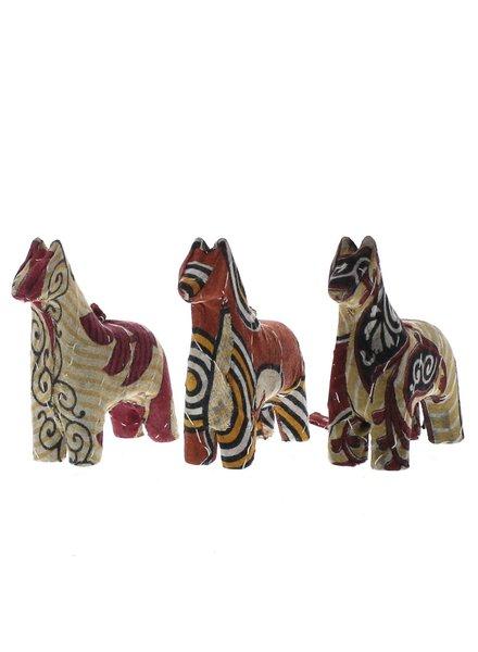 HomArt Vintage Sari Horse Ornament