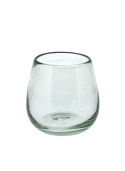 HomArt Cantina Recycled Glass Stemless Wine Glass