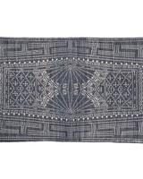 HomArt Indigo Batik Cotton Rug, 2x3  Indigo Batik