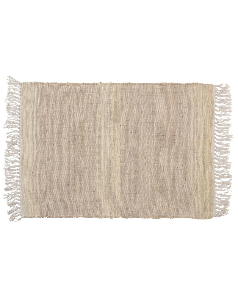 HomArt Tacoma Cotton & Hemp Rug, 2x3  Natural