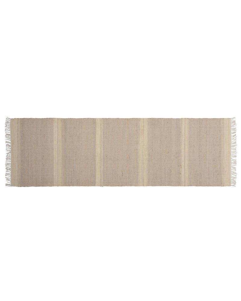 HomArt Tacoma Cotton & Hemp Runner, 2.5x8  Natural