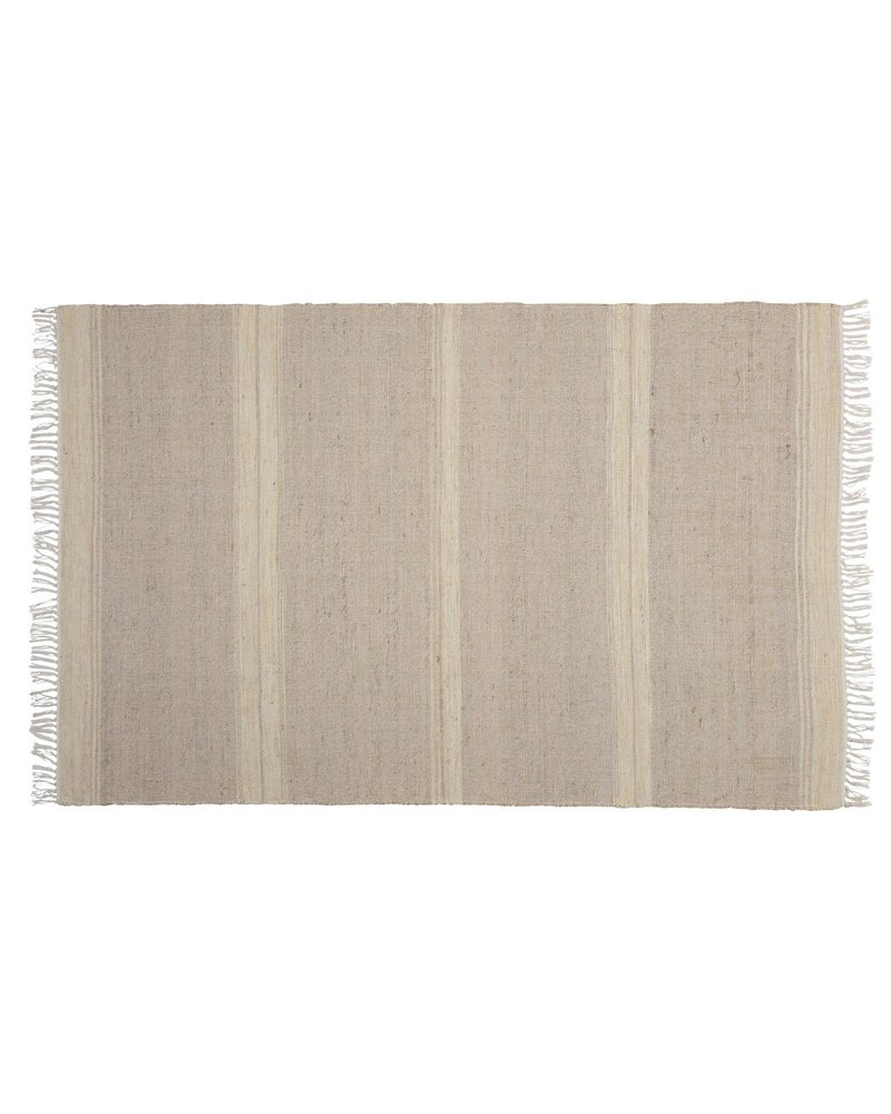 HomArt Tacoma Cotton & Hemp Rug, 4x6  Natural