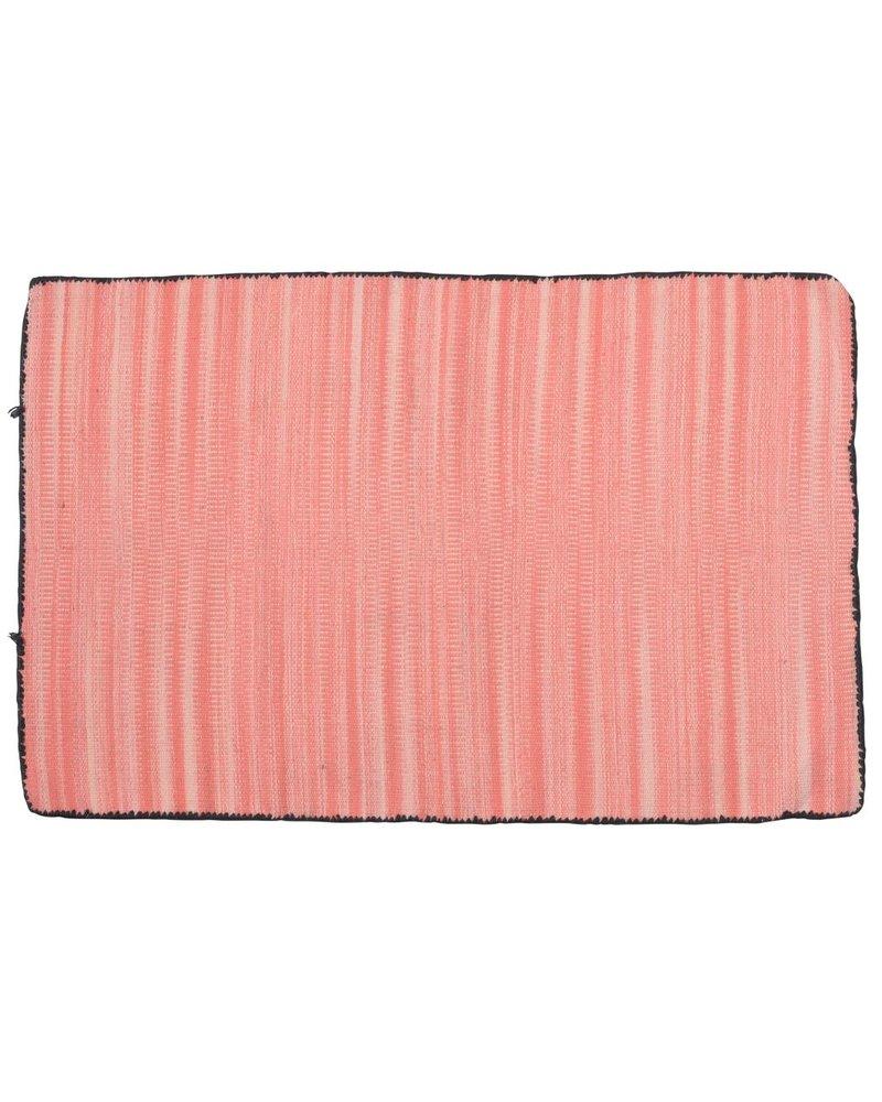 HomArt Tarabuco Cotton Rug, 2x3  Vermillion