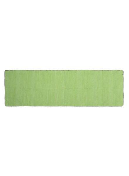 HomArt Tarabuco Cotton Runner, 2.5x8  Apple